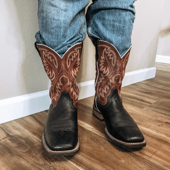 2da9cfa445f Ariat Quick Draw Western Boot